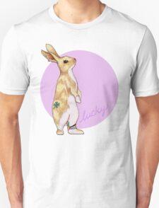 Lucky Bunny Unisex T-Shirt