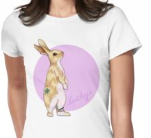 Lucky Bunny Womens Fitted T-Shirt