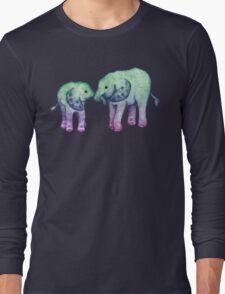 Baby Elephant Love Long Sleeve T-Shirt