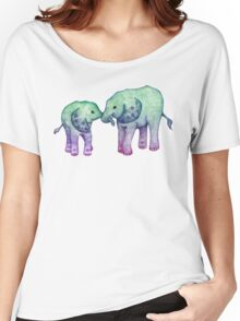 Baby Elephant Love Women's Relaxed Fit T-Shirt