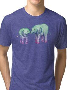 Baby Elephant Love Tri-blend T-Shirt