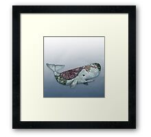 Whale in the Deep Framed Print