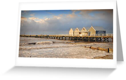 Busselton Jetty at Sunset by autumnleaf