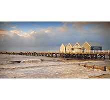 Busselton Jetty at Sunset Photographic Print