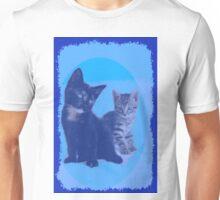 BLUE KITTENS Unisex T-Shirt