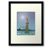 Dock Hickory Framed Print