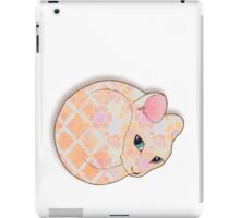 Introvert Kitten - patterned cat illustration iPad Case/Skin