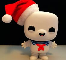 Santa Stay Puft by FendekNaughton