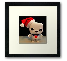 Santa Stay Puft Framed Print