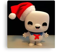 Santa Stay Puft Canvas Print