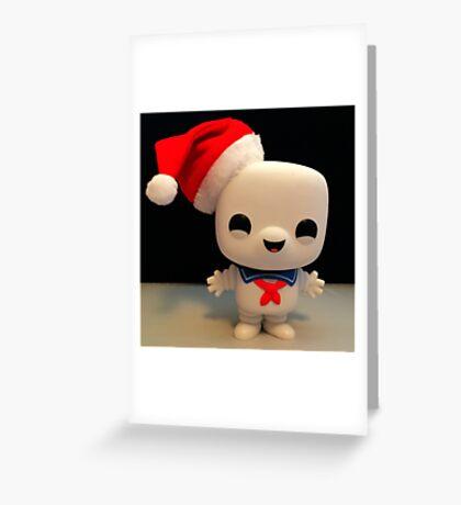 Santa Stay Puft Greeting Card