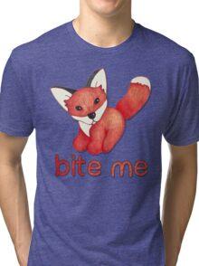 Fox Lattice Tri-blend T-Shirt