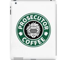 Prosecutor Coffee iPad Case/Skin