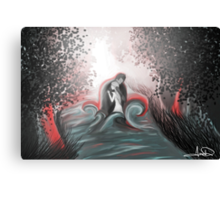 The Swan Curse - SwanFire Canvas Print