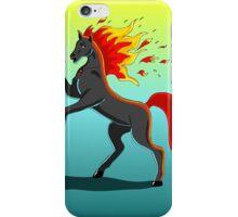 fire Horse iPhone Case/Skin