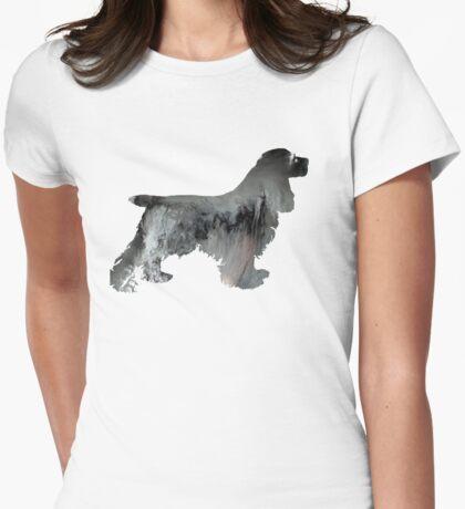 Cocker spaniel  Womens Fitted T-Shirt