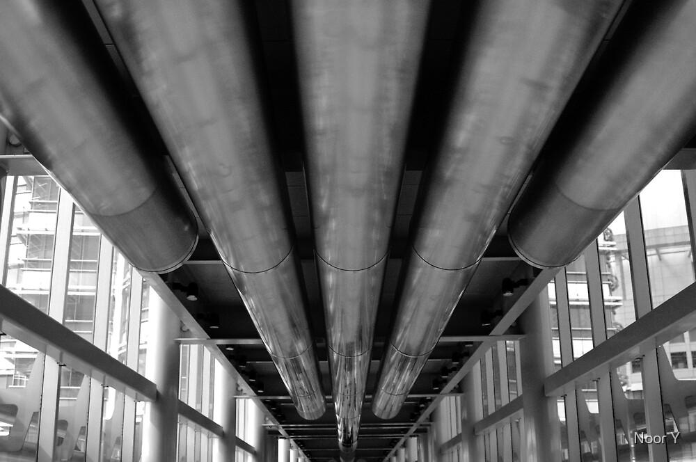 Petronas B&W by Noor Y