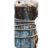 pier on the lake iPhone Case/Skin