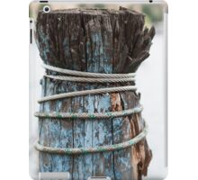 pier on the lake iPad Case/Skin