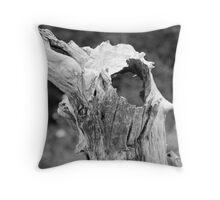 Tree in the Marsh Throw Pillow