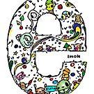 IMOK Letter e by Imok