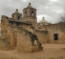 San Antonio Missions by Holly Werner