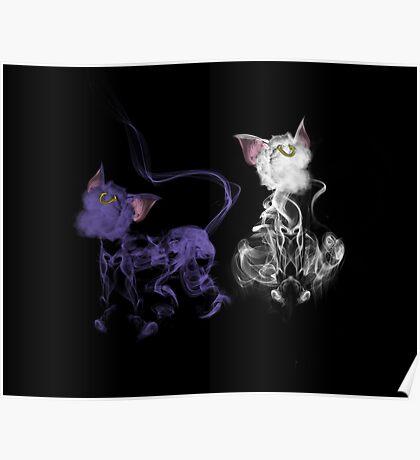 Sailor Kitties Poster