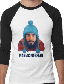 Maniac Messiah  Men's Baseball ¾ T-Shirt