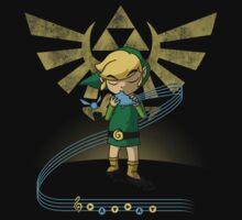 The Song of Time Kids Tee