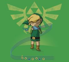 The Song of Time Baby Tee