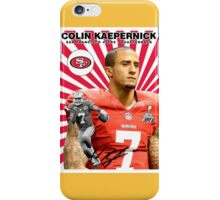 Colin Kaepernick Baseball Card iPhone Case/Skin