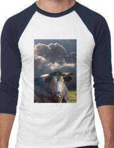 Bull before the Storm Men's Baseball ¾ T-Shirt