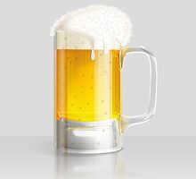 Light beer mug by AnnArtshock