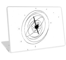 old sundial Laptop Skin