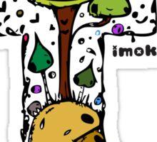 IMOK Letter T Sticker