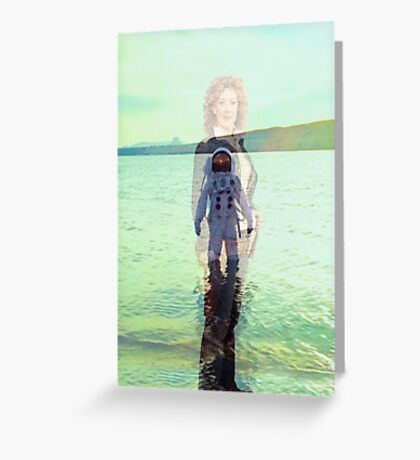 The Impossible Astronaut - River Song Greeting Card