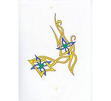 Crossed Heart Tattoo 34 Photographic Print