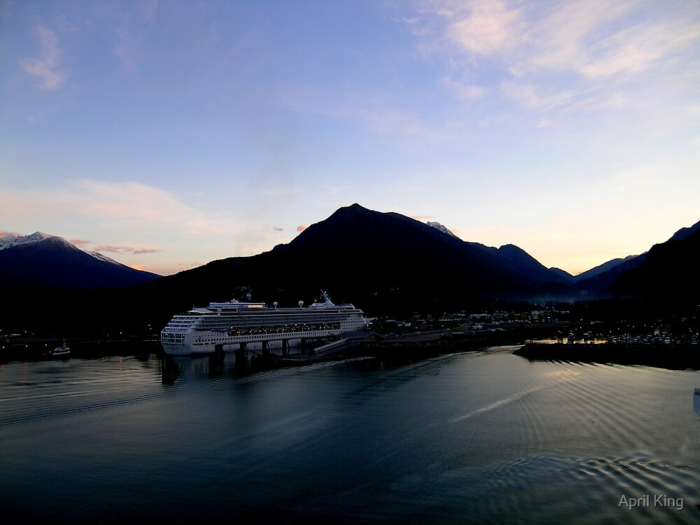 Docked in Skagway, Alaska by April King