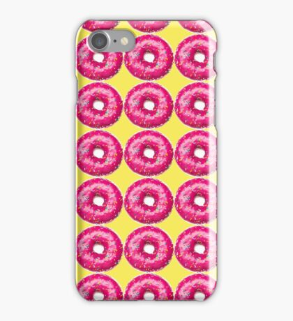 PINK DONUTS iPhone Case/Skin