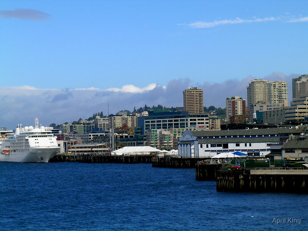 Seattle Harbor by April King