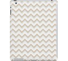 Gold Glitter Chevron Pattern iPad Case/Skin