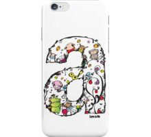 IMOK Letter a iPhone Case/Skin