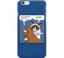 Grumpy revenge iPhone Case/Skin