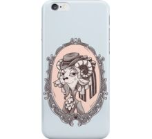 lady goat iPhone Case/Skin