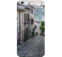 An Umbrian Lane iPhone Case/Skin