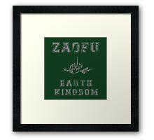 Zaofu, Earth Kingdom  Framed Print