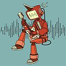Rock-a-Billy Robot by Megan Kelly