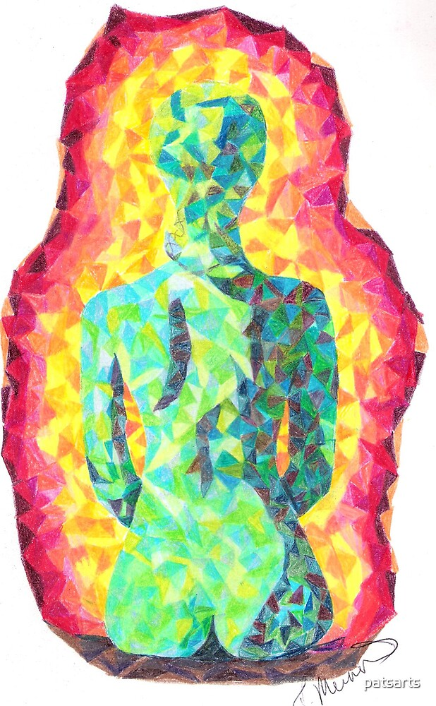 Rainbow Woman by patsarts