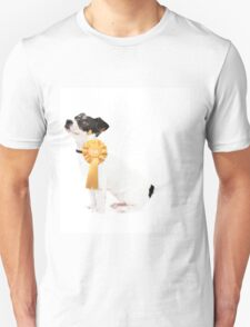 Proud Jack Russell Puppy Unisex T-Shirt