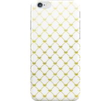 Golden French Bee Pattern iPhone Case/Skin